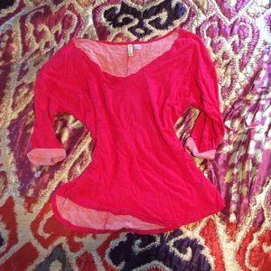 off the shoulder sweatshirt top Flashdance style